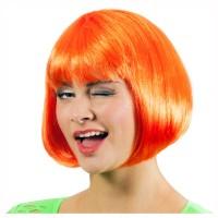 WILBERS Perücke Bobline neon orange