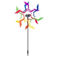HQ INVENTO Windrad Design Crazy Rainbow