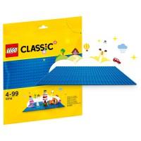 LEGO CLASSIC Bauplatte blau