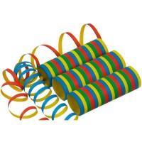 10 Rollen Luftschlangen 4m
