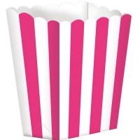 5 Popcorn Schachteln Pink CHEV