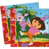 20 Papierservietten Dora