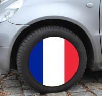 Radsocken fürs Auto Frankreich