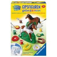 RAVENSBURGER Gipsfiguren Pferde