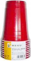 Roter Trinkbecher