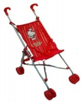 Hello Kitty Kinderwagen, rot