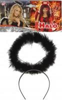 Heiligenschein auf Haarreif one Size