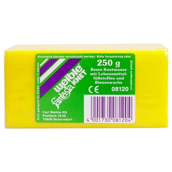 Blockknete 250g, gelb