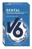 V6 Dental Peppermint 24g Box x 24