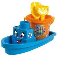 Androni Boot mit Sandeimer-Set