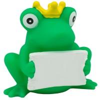 Sombo Badeente Frosch mit Schild
