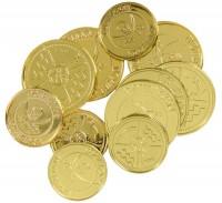 12 Goldmünzen
