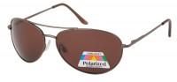 Modische Sonnenbrille Braun 7973A