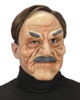 Gesichtsmaske alter Mann