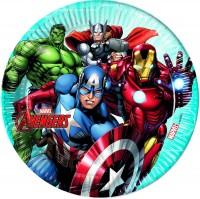 Einweg Pappteller Mighty Avengers