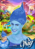 Blaue Trollperücke
