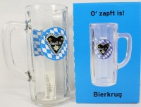 Bierkrug O'zapft is!