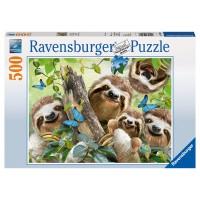 RAVENSBURGER Puzzle Faultier Selfie