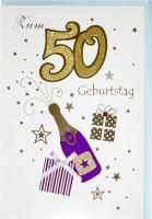 Riesenkarte Geburtstag 50 Jahre