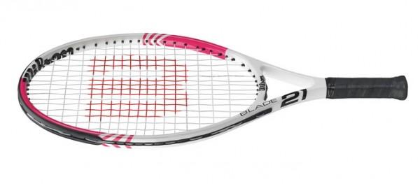 Wilson Kinder Tennisschläger Blade 21 Pink