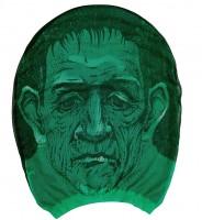 Grüne Strumpfmaske Labormonster