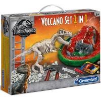 Clementoni Jurassic World Vulkan Set 2 in 1