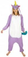 Kostüm violettes Einhorn M