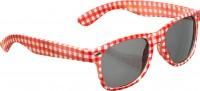 Rot-weisse Sonnenbrille