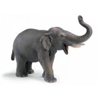 Asiatischer Elefantenbulle Schleich Figuren