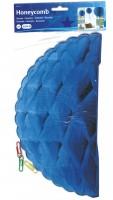 Honigwaben-Ball blau