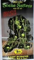 Wanddeko Skelette/Halloween
