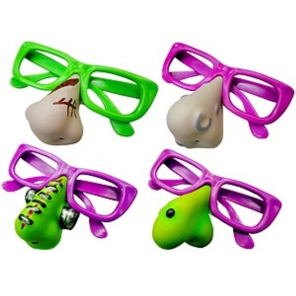 Brille mit Nase - assortiert