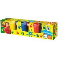 SES SES Fingerfarbe 4 x 150 ml