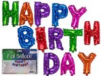 Folienballone Happy Birthday