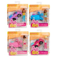 BARBIE ON THE GO On The Go Puppe & Fahrzeug