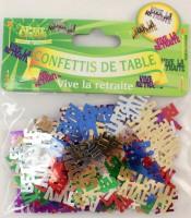 Tischkonfetti Vive la retraite