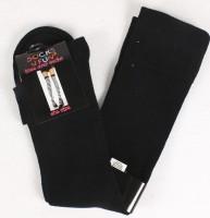 Overknees Socken schwarz