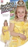 Kostüm Sonnen Prinzessin 128cm