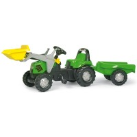 Rolly Toys rollyKid Deutz-Fahr Lader+Anhänger