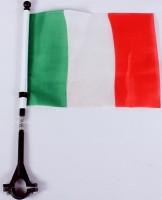 Fahne für Fahrrad Italien