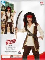 Kinderkostüm Pirat 140cm