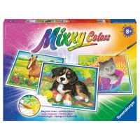 RAVENSBURGER Mixxy Colors Lieblingstiere