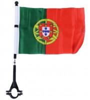 Fahne für Fahrrad Portugal