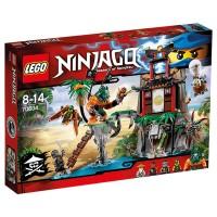 LEGO NINJAGO Schwarze Witwen-Insel