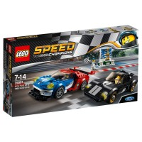 LEGO SPEED CHAMPIONS Ford GT 2016 & Ford GT40 '66