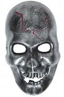 Totenkopfmaske Metall