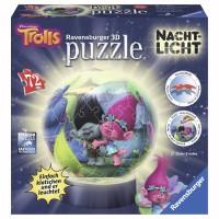 RAVENSBURGER Puzzleball Trolls Nachtlicht