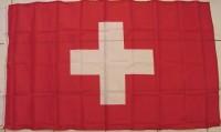 Fahne Schweiz mit Ösen