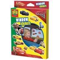 SES SES Fensteraufkleber Cars 3