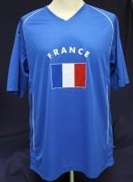 T-Shirt Frankreich Kindergrösse 122cm